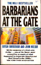 Barbarians at the gate; Bryan BURROUGH and John HELYAR