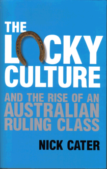 The Lucky Culture; Nick CATER
